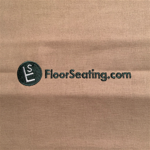 Put your own custom logo or design on your FloorSeating.com order!